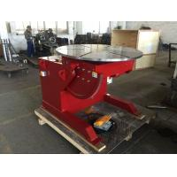 Buy cheap 1000 Kg Capacity Tilting Rotating Welding Table With Hand Control / Foot Pedal Control from wholesalers