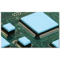 Ultrasoft CPU Heatsink Pad , Blue 1.5W / m - K  2.85g / cc Thermal Silicone Pads