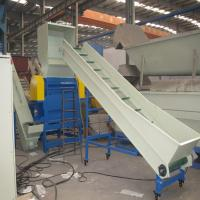 Large Capacity Plastic Extrusion Equipment PP PE Washing Crushing Drying Line