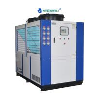 Cheap China Chiller Manufacturer 30RT 40hp Refrigeration Water Cooling System Chiller Low Price for sale