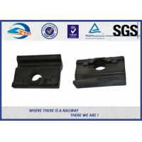Quality Black Colored Angled Guide Plate WFP14k Plastic and Rubber Part for Vossloh wholesale