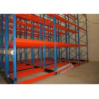 Cheap Beverage Industry Galvanised Pallet Racking Motorized Movable Storage Racks wholesale