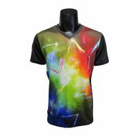 China Stretchable Short Sleeve Running Shirt , Running Sportswear All Sizes Available on sale