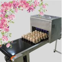 Cheap Printing 120000 Eggs / H Egg Stamping Machine For Bar Code Or Graphic LOGO for sale