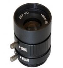 Quality 16mm Manual Iris Control lens, 3.0 Megapixel, 1/2'' Sensor CCTV Lens, CS mount wholesale