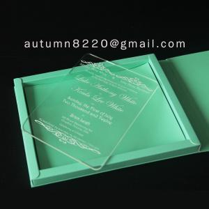 Cheap B IC (9) deep impress wedding card for sale