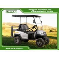 Buy cheap 5KW 4 Passenger Electric Hunting Carts , 48v Battery Golf Cart from wholesalers