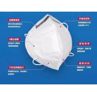 Cheap Protective Kn95 Face Mask , Medical Grade Face Mask Anti Germs Soft Disposable for sale
