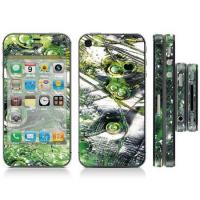 China Forest Branch Pattern Cell Phone Colored Protective Film For IPhone4/4s Skin on sale