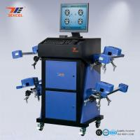 Cheap Wide Angle Blue CCD Wheel Aligner Automatic Machine With Wireless Communication System for sale