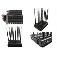 Cheap 12 Bands 12 Antennas Cell Phone Signal Jammer GSM 2G 3G 4G Long  Time Working for sale