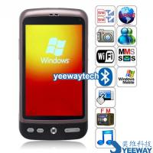 G7 Quad Band Dual Cards Windows Mobile 6.5 Professional WiFi Bluetooth