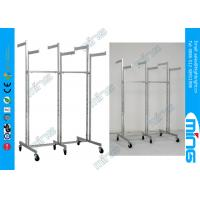China 6 Way Metal Clothing Rack with Straight Arms in Chrome Plated on sale
