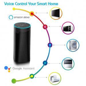 Cheap Wireless Wireless Smart Speaker , ABS And Metal Alloy Alexa Wireless Speaker for sale