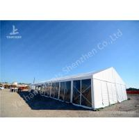 Cheap 16M Wide Transparent Pvc Wall Outdoor Party Tents , Wind Resistant Garden Party Marquee wholesale