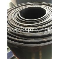 Cheap Textile fiber reinforced rubber sheeting roll High tensile strength and wear resistance for sale
