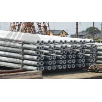 Cheap Hollow pole Concrete Pole Steel Mould Concrete Pole Equipment dense and high strength for sale
