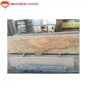 Cheap Natural Stone Kashmir Gold Granite Slab For Floor Tile Or Countertop for sale