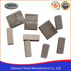 China Long Life 1600mm Diamond Segment Stone Cutting Segment Segmented Bond Tool on sale