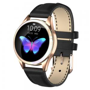 Cheap Round Lady Style NRF 52832 Heart Rate Monitor Smartwatch for sale