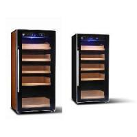 China Electronic Cigar Humidor Shop Digital Control Humidor Cabinet Modern Stainless Steel Shape (GME-002) on sale