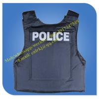 Quality black color hot sale security bullet proof vest armor vest wholesale