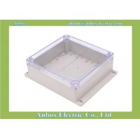 Cheap 192*188*70mm wall mount electrical outlet plastic enclosure IP65 plastic box clear for sale