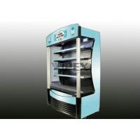 Cheap Open air cooler display fridge R404a Gas digital control with LED display for sale