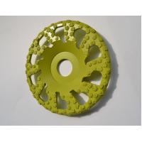 Cheap Vacuum Brazed Diamond Grinding Wheel 5 Inch For Surface Grinding / Edge Chamfering for sale