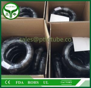 Buy cheap Teflon PTFE/PFA/FEP corrugated pipe from wholesalers
