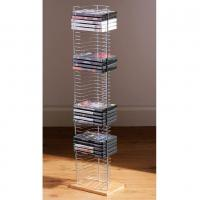 Buy cheap Free Standing Commercial Wire Shelving With Wooden Foot Base 8