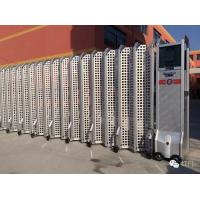 Buy cheap Aluminium Alloy Expandable Electric Retractable Gate Folding With Mesh Screen from wholesalers
