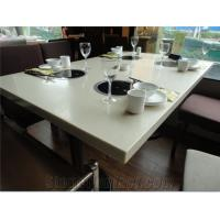 China from real factory 100% acrylic artificial marble sheet on sale