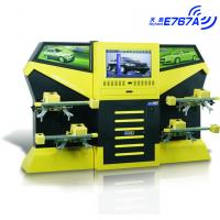 Cheap E767A Yellow CCD 3excel Wheel Aligner , Automotive Four Wheel Tire Alignment Computerized for sale