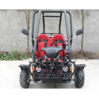 Cheap 110cc,SAMLL SIZE,double adjustable seat, air cooled,CDI electirc start, automatic clutch 3 speed with reverse wholesale