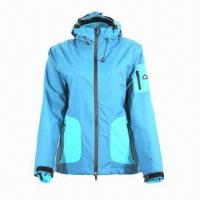 Cheap Women's 3-in-1 Jacket, Waterproof and Breathable, with Detachable Fleece for sale