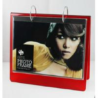 Cheap red calender 6x8 acrylic photo frame for sale