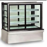Cheap Digital Control Thermostat Cake Display Freezer Rear Sliding Door High Efficiency for sale