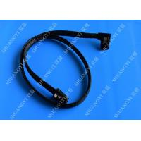 Cheap Internal Mini SAS(SFF-8087) 36Pin Right Angle Male to Internal Mini SAS (SFF-8087) 36Pin Male Cable, 0.75 Meterr wholesale