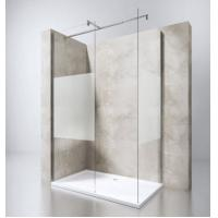 Buy cheap European Portable Acrylic Plastic Base Tray Frameless Walk in Glass Shower from wholesalers