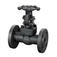 Cheap Actuation API 6D 2 Inch Forged Steel Gate Valve Connection standard for sale