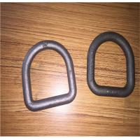 Cheap Forged Steel Safety D Rings / Lifting D Rings One Way Buckle LC8KN Stamping for sale