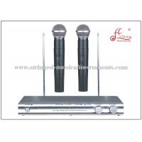 China VHF 230 - 270MHz Fixed Channel FM Hanheld Audio PA Systems VHF Wireless Microphone on sale