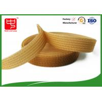 Buy cheap Silk printing strong hook and loop straps for cable ties , One side fabric hook and loop fasteners from wholesalers