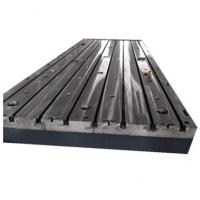 Cheap Electrical Durable Cast Iron Surface Plate For CNC Thread Milling Machine for sale