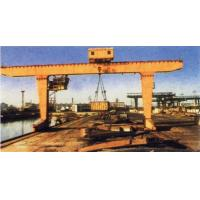 Cheap MG Double Girder Gantry Electric Overhead Crane With Hook , 25T Rated Loading Capacity wholesale