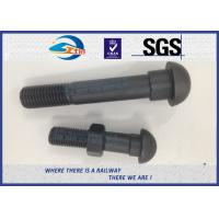 Cheap Railway Track Fasteners Railroad Bolts Railway Track Fittings 45# Grade 8.8 for sale