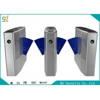 Bi-Directional Wide Lane Flap Barrier Gate With IR Sensor And Anti-pinic