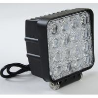 Cheap 48 Watt LED Auto Car Head Lights 4*4 LEDs Waterproof IP 67 Truck Work Lights for sale