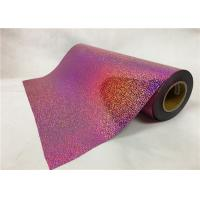 Buy cheap 0.5*50M Laser Hologram Heat Transfer Vinyl , Pink Holographic Iron On Vinyl For from wholesalers